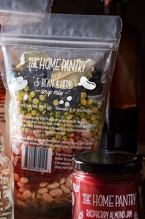 5 Bean + Herb Soup Mix