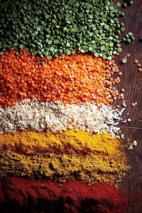 Curry Lentil + Split Pea Soup Mix