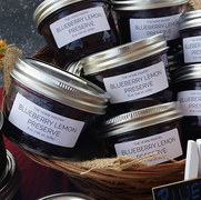 Blueberry Lemon Preserve
