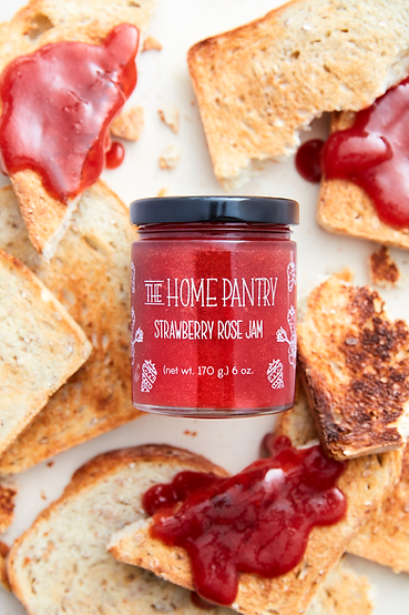 Strawberry Rose Jam