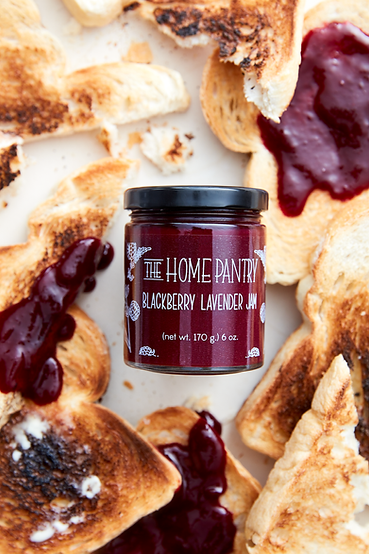 Blackberry Lavender Jam