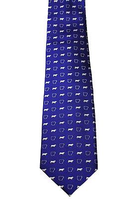 Arkansas Beef Tie: Blue
