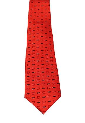 Arkansas Beef Tie: Red