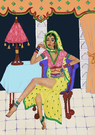 The 'Jasmine' drawing