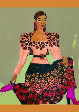 The 'Esmeralda' drawing