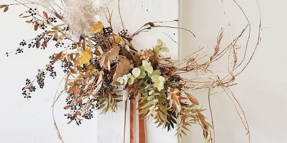Holiday Dried Wreaths Event