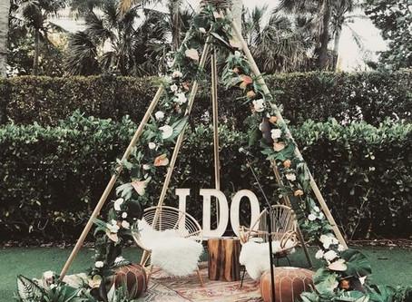 Styling a Bohemian Wedding