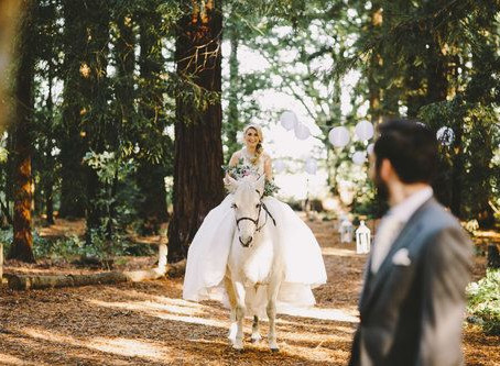 The Most Fairytale & Dream Come True Woodsy Wedding Inspiration