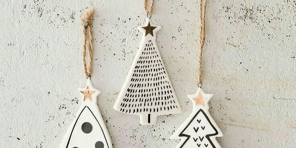 Salt Dough Ornament Decorating Gathering