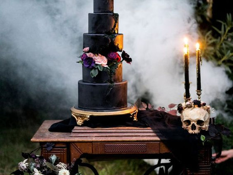 Spooky Wedding Inspiration for Halloween