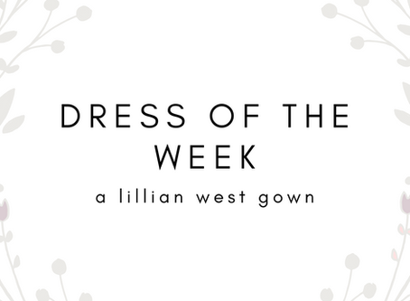 Dress of The Week: Romantic Long Sleeved Fit and Flare