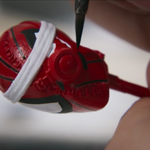 Hand Painted Cyborg Spiderman Prototype (Hasbro)