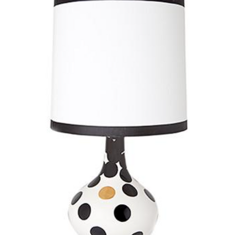 Lamp with Dot Pattern