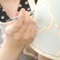 Painting Hampton Links Pattern
