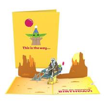 Star Wars™ The Mandalorian: The Birthday Way Pop-Up Card