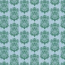 Cat Damask Pattern