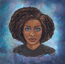 Monica Rambeau Portrait