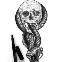 Dark Mark Illustration