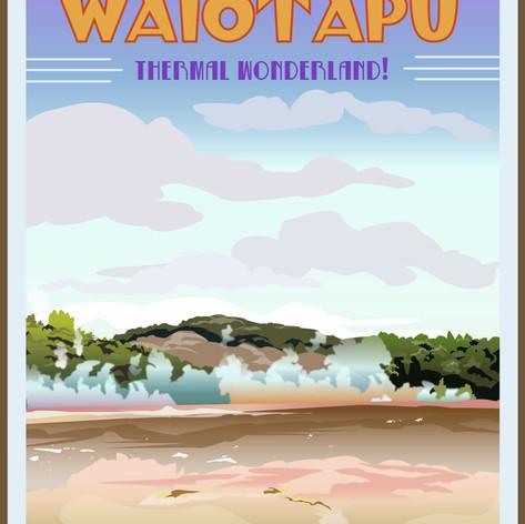Waiotapu, NZ