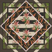 Organized Floral Illustration