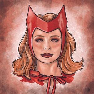 Wanda Maximoff Portrait