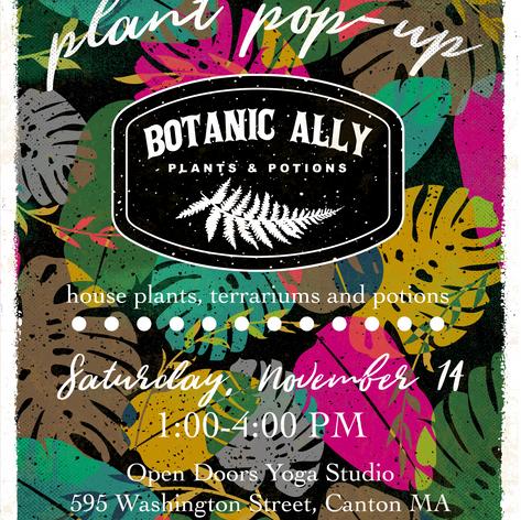 Botanic Ally Poster