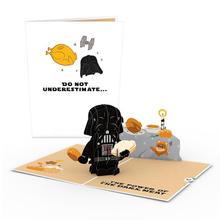 Star Wars™ Darth Vader™ Thanksgiving Pop-Up Card