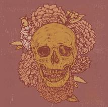 Skull Floral Illustration