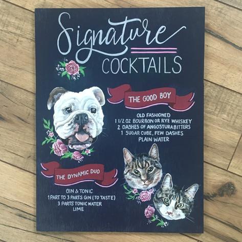 Specialty Cocktail Menu