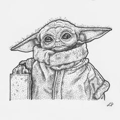 The Child Pen Illustration
