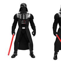 Hero Series Darth Vader, Digital Painted Prototype (Hasbro)
