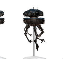 Probe Droid, Digital Painted Prototype (Hasbro)
