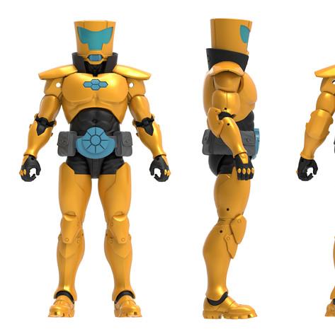 AIM Scientist Supreme, Marvel Legends Digital Painted Prototype (Hasbro)