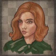 Beth Harmon Portrait