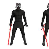 Hero Series Kylo Ren, Digital Painted Prototype (Hasbro)