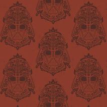 Darth Vader Damask Pattern
