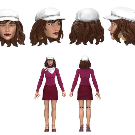 Moira, Marvel Legends Digital Painted Prototype (Hasbro)