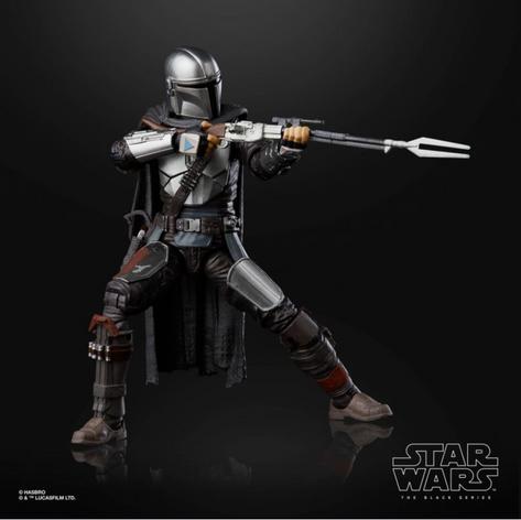 Mando, Beskar Armor Prototype (Hasbro)