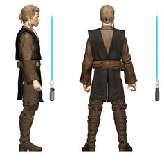 Anakin Skywalker, Digital Painted Prototype (Hasbro)