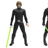 Hero Series Luke Skywalker, Digital Painted Prototype (Hasbro)