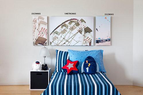 cuadro decorando cuarto de niño