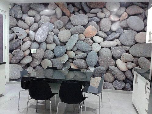 vinilo impresion textura piedras decoracion