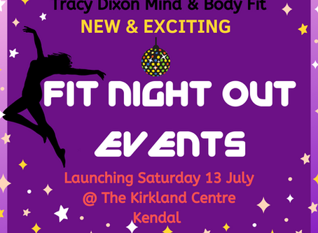 FIT NIGHT OUT EVENTS Launching July