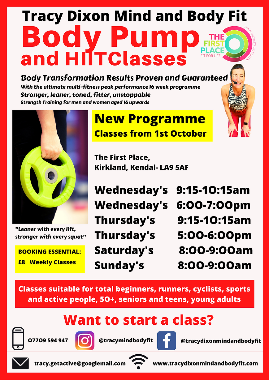 Tracy Dixon Mind and Body Fit Body Pump Kendal October.png