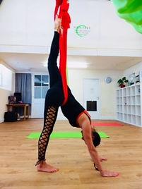 Aerial Yoga Classes for Beginners in Ken