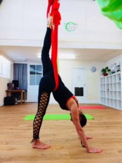 Aerial Yoga Classes for Beginners in Kendal