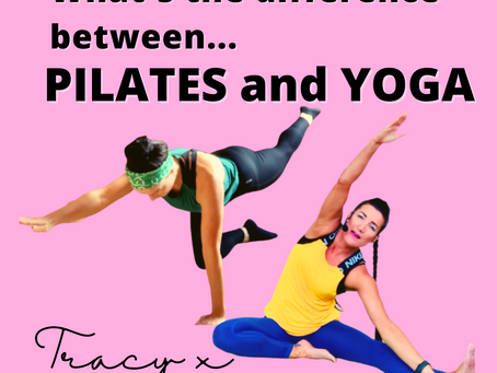⭐What's the difference between Pilates and Yoga?