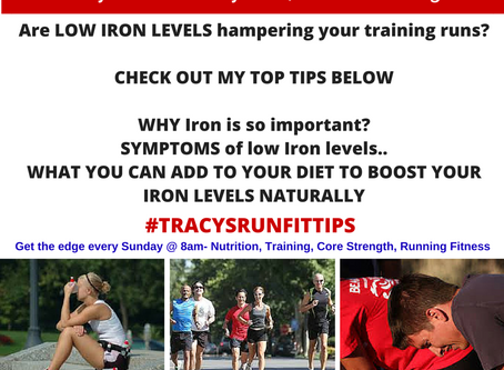 Low Iron levels and Running