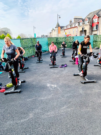 Spinning Classes Kendal indoor and outdoor group cycling