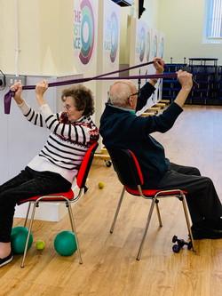 Chair based exercises strength classes k